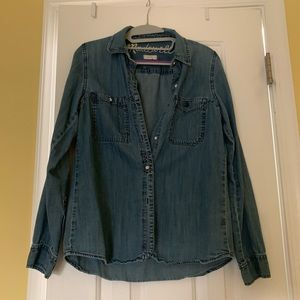 Madewell denim shirt (S)